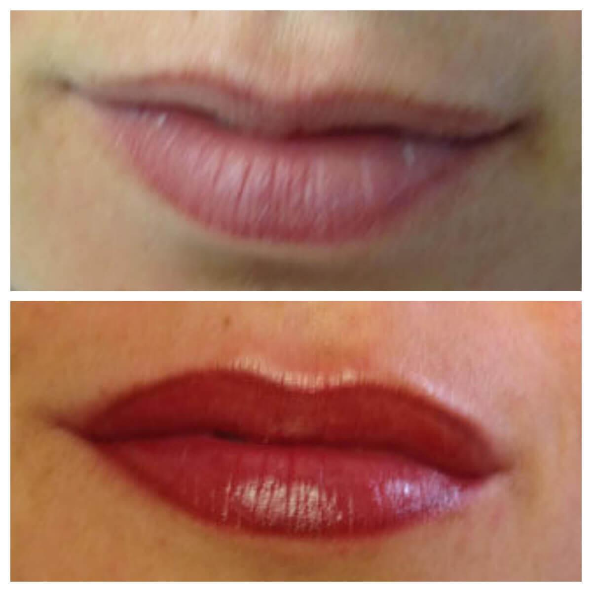 Beliebt Bevorzugt Permanente make up lippen of lippen tatoeeren veilig uitgevoerd @ZE_63